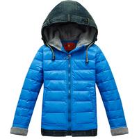 Down coat child down coat male child medium-long winter down coat