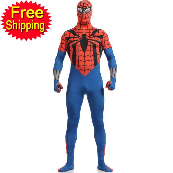 Popular Black Spiderman Costume-Buy Cheap Black Spiderman Costume lots ...