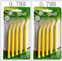 Interdental Brush 0.7mm    Toothbrush Floss High Strength Brush Long Handle Free Shipping