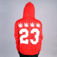 Honey street weed 23 hiphop hip-hop hiphop plus velvet loose pullover sweatshirt hoodie