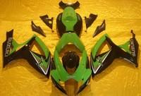 Injection Molded Fairing for SUZUKI GSXR600 750 GSXR600 GSXR 750 K6 06 07 2006 2007 green black Racing Fairings bodykit SQ129