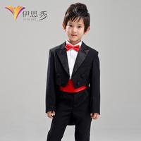 Free shipping Child  piano costume performance  child flower girl wear classic children suit boy's tuxedo