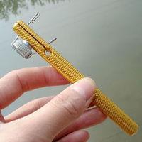 Metal manual dual-use uncinus hook meridianal knotter 2in 1