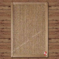 Natural eco-friendly sisal linen carpet sisal doormat mats door mat 40 60cm