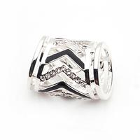 Yapolo rhinestone silk scarf ring silk scarf tube crystal rhinestone xj094