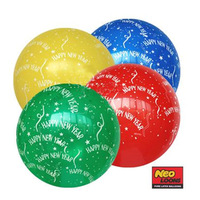 50 pieces /lot neo Latex Balloon 12 inch Holiday Decorations Happy new year After filling 26-28cm Mixed color