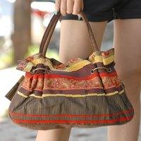 Free Shipping Classic handbag women's bags canvas brief bag vintage fashionable casual street female bags