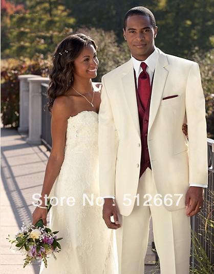 Tuxedos for groom custom made suit groom wear mens red tuxedo 103