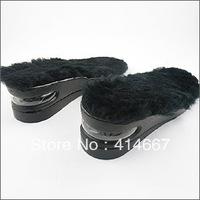 free shipping 5prs/lot high heel winter wool insole cushion air-sac 3 - 5cm adjustable