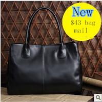 Hot-selling 2013 women's elegant genuine leather handbag fashion one shoulder cross-body bag vintage handbag