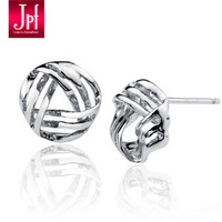 Jpf 925 pure silver stud earring female women's stud earring silver jewelry earring birthday gift
