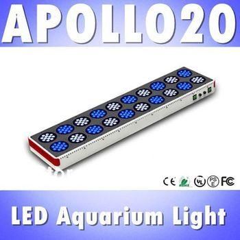 Free shipping Apollo 20 240*3W LED aquarium light White: Blue=1:1 full spectrum reef coral led light (Customizable)
