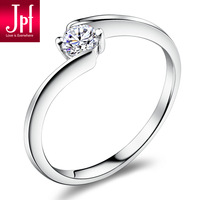 Jpf 0.25 cubic zircon 925 pure silver ring female silver jewelry women's birthday gift