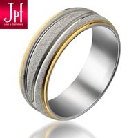 Stainless steel scrub jpf noble male ring pinky ring accessories ring male