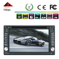 Free shipping! 2013 new universal Car DVD Player Double Din Bluetooth Touch Screen fit all cars