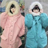 Korea Institute of wind winter dress coat jacket girlfriends and sisters