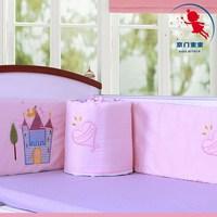 Kidsattach baby twins bed baby bedding bumper bed around piece set cotton 100% cotton kit