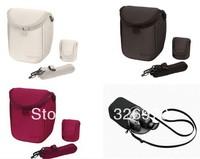 Camera Cover Case Bag for Sony LCS BBF NEX3C NEX5C NEX5N NEX F3 NEX7 Red Grey Black & White color free shipping