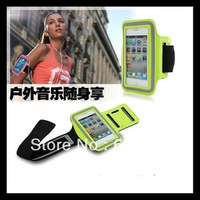 Sweatproof Waterproof Gym Running Cycling Sports Exercise Armband Arm Band Cover Case Strap Holder For iPhone 4 4S 4G