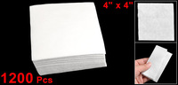 "1200 x Anti Static Soft Dustless Cloth Cleanroom Wipers 4"" x 4"""
