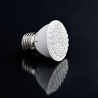 5pcs White lighting 220V 1.9W 38 LED E27 Energy LED Saving Light Bulb lamp Hot!