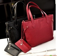 2013  new,women's cheaper bags,female bags   fashion stripe one shoulder women's big bags coin purse  ,free shipping