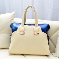Free/drop shipping new fashion,messenger bag women's wholesale handbag Color block bag  Free/drop shipping messenger bag