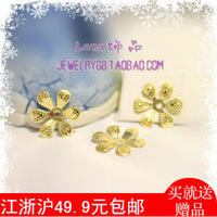 Diy accessories gold plated handmade diy beads hair stick cosplay costume hair accessory material metal motif