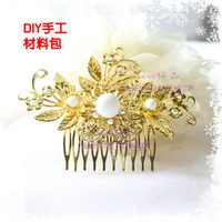 Diy accessories handmade diy hair stick costume hair accessory comb cosplay material kit set belt
