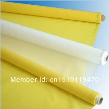 white colour 127cm 43T/110mesh polyester screen printing mesh