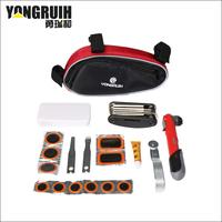 Need mountain bike bicycle multifunctional repair kit pump tire toiletry kit