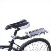 Cyclpro reinforced aluminum alloy quick release stacking shelf carrier disc v bicycle stacking shelf