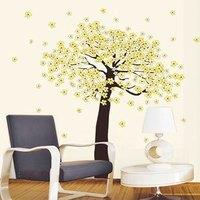 The third generation wall stickers polyantha wallpaper applique wallpaper ld643