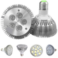 10pcs/lots MR16 E27 UG10 PAR30 Dimmable LED 5X2W 7x2W 9x2W CREE LED Flood Ceiling Spot light bulb Lamp 60 / 120 Degree