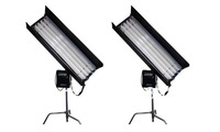 New 2 Kits x 300W 4ft 4BANK Select Fluorescent Light E Ballast Kino Lighting