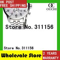 Free Shipping New fashion HB1512445 men full steel watch Chronograph Men's Brand Wristwatch Fashion Luxury brand Sports Watches