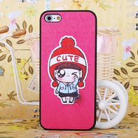 new Girl  for apple   5 protective case iphone5 phone case set shell mobile phone case