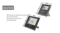 led flood light 10W 20W 30W 85-265V High Power Warm White/Cool White Outdoor Lamp