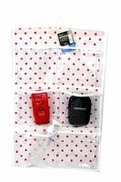 Bag eco-friendly 5 non-woven pvc bathroom door bed storage bag