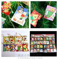 Free Shipping Elegant small wish cards thanks Christmas card love hang card gifts ,