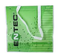 Zipper eco-friendly non-woven film shopping bag fashion sports casual fashion shoulder bag tote