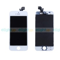 100% High Quality Replacement LCD Display + Touch Screen Digitizer Assembly For Apple Iphone 5 5G White Free Shipping