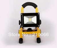 LED rechargeable Camping Lamp 10W IP65 waterproof Portable outdoor flood light with battery Free shipping hand-carry