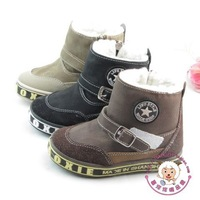12 child winter waterproof thermal boots thermal children shoes long 15 - 17.2cm
