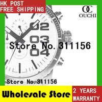 DZ4219 Christmas Gift quartz watch 2014 Free Shipping Top Quality Silver Brand Luxury New Fashion big face Men Watches 821YM