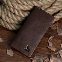 High quality genuine leather man fashion purses,elegant cow leather long wallet ,card holder purses 8011C