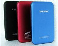 2.5' SATA external HDD enclosure/ HD box for samsung black/blue/red ABS plastic USB2.0