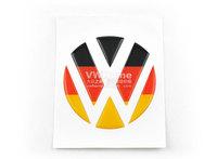 New 3D Volkswagen Germany Sticker Car Emblem Logo Paper