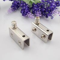 Jiale Small stainless steel hinge glass hinge cabinet door glass hinge glass door clip