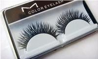 MC 10pairs/lot High Quality Fake False Eyelashes Makeup Eye Lash free shipping